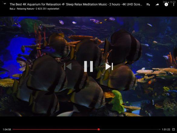 Odtwarzanie filmu w rozdzielczości 2K - tablet Samsung Galaxy Tab S3 - 90sekund.pl