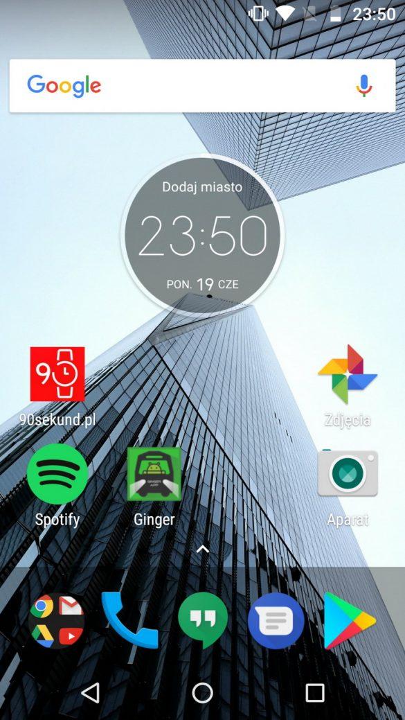 Motorola Moto G5 Plus (XT1685) - recenzja 90sekund.pl