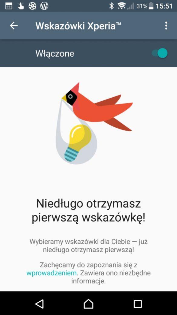 Sony Xperia XZ Premium - Wskazówki Xperia - recenzja 90sekund.pl
