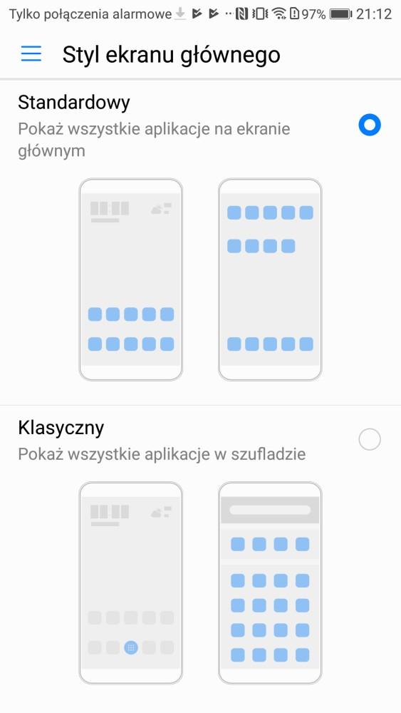 Wygląd systemu w Honorze 9 - recenzja 90sekund.pl