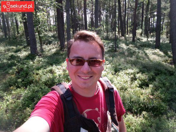 Selfie z Sony Xperii XA1 - recenzja 90sekund.pl