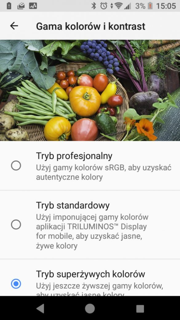 Android w Sony Xperia XZ1 Compact (G8441) - 90sekund.pl