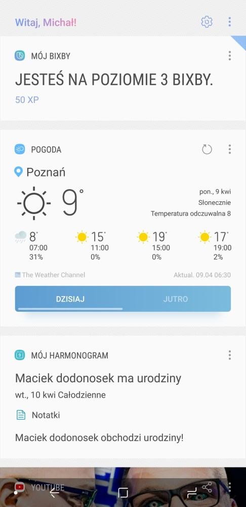 Asystentka Bixby w Galaxy S9+ - 90sekund.pl