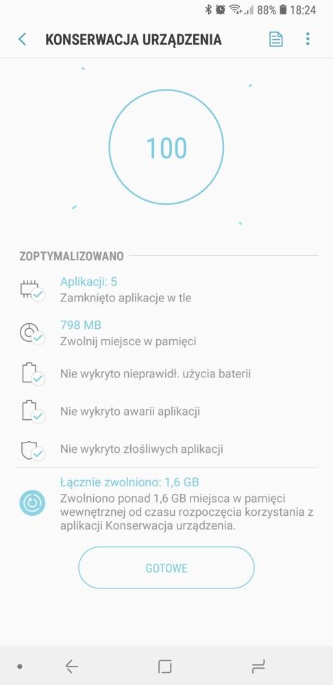 Konserwacja i oczyszczanie Galaxy S9+ - 90sekund.pl