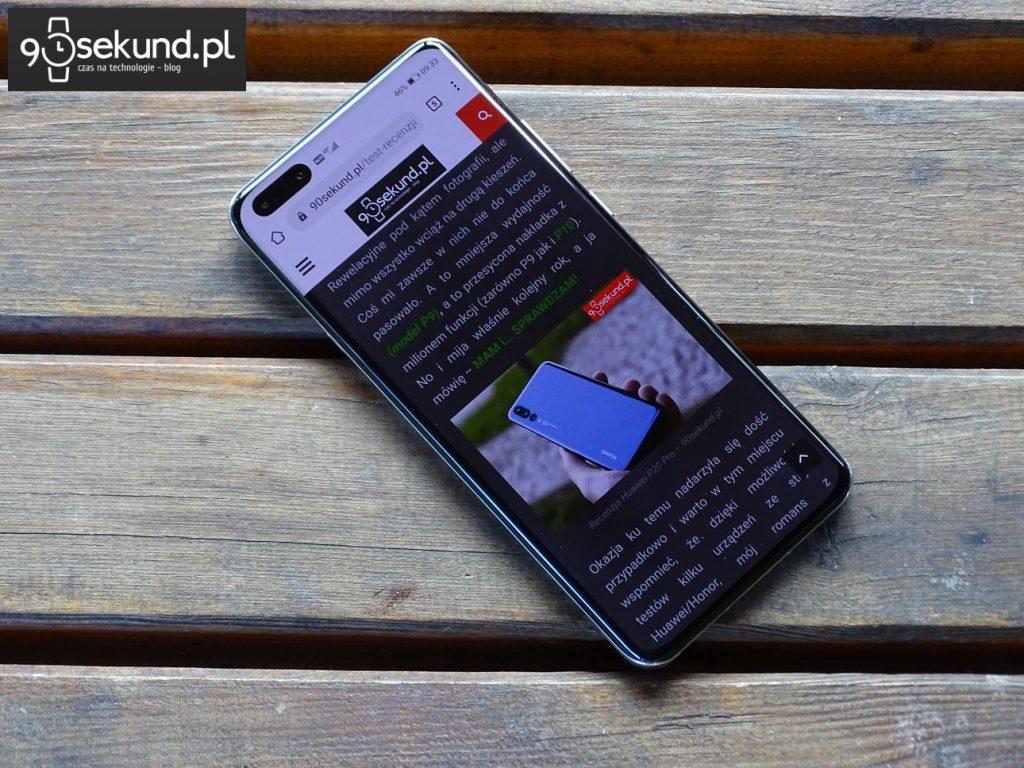 Test Huawei P40 Pro - 90sekund.pl