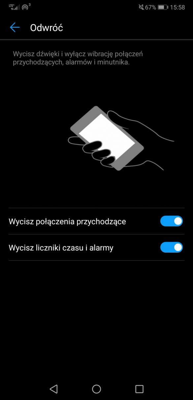 Recenzja Huawei P20 Pro - System. Nakładka EMUI 8.1.0 - 90sekund.pl