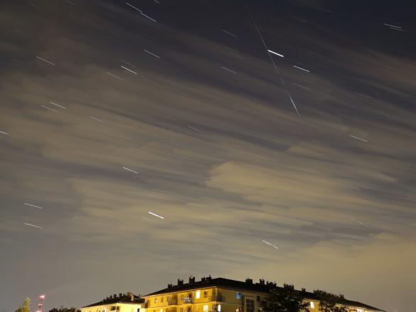 Zdjęcie przykładowe - Efekt Tory gwiazd - Huawei P20 Pro - 90sekund.pl