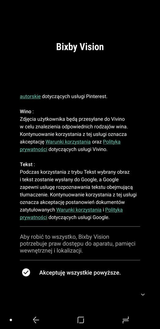 Asystentka Bixby Vision w Galaxy A6 Plus - 90sekund.pl / Michał Brożyński