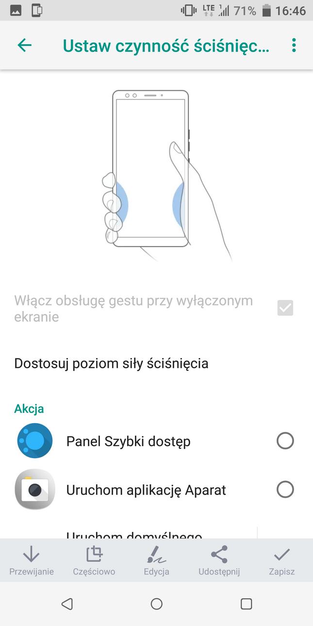 Recenzja HTC U12+(Plus) - Edge Sense - 90sekund.pl