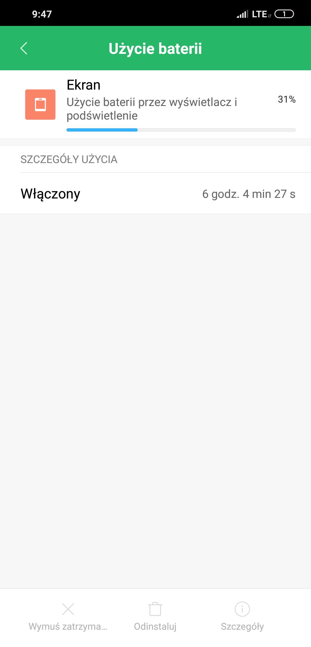 Bateria w Pocophone F1 - Michał Brożyński 90sekund.pl