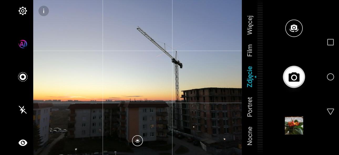 Recenzja Honor 8 - Działanie AI w aparacie - 90sekund.pl