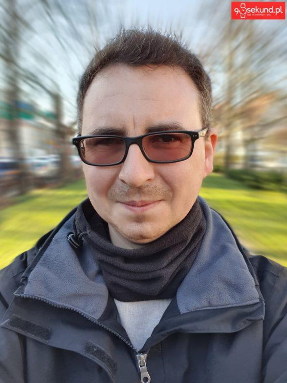 Selfie z efektem Powiększenia z Galaxy S10+ Plus - Michał Brożyński 90sekund.pl