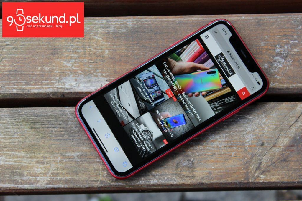 iPhone 11 - Krzysztof Bojarczuk - 90sekund.pl