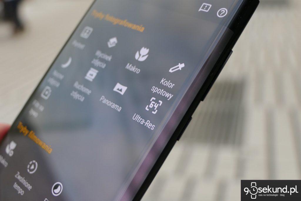 Recenzja Motorola Edge - Michał Brożyński 90sekund.pl