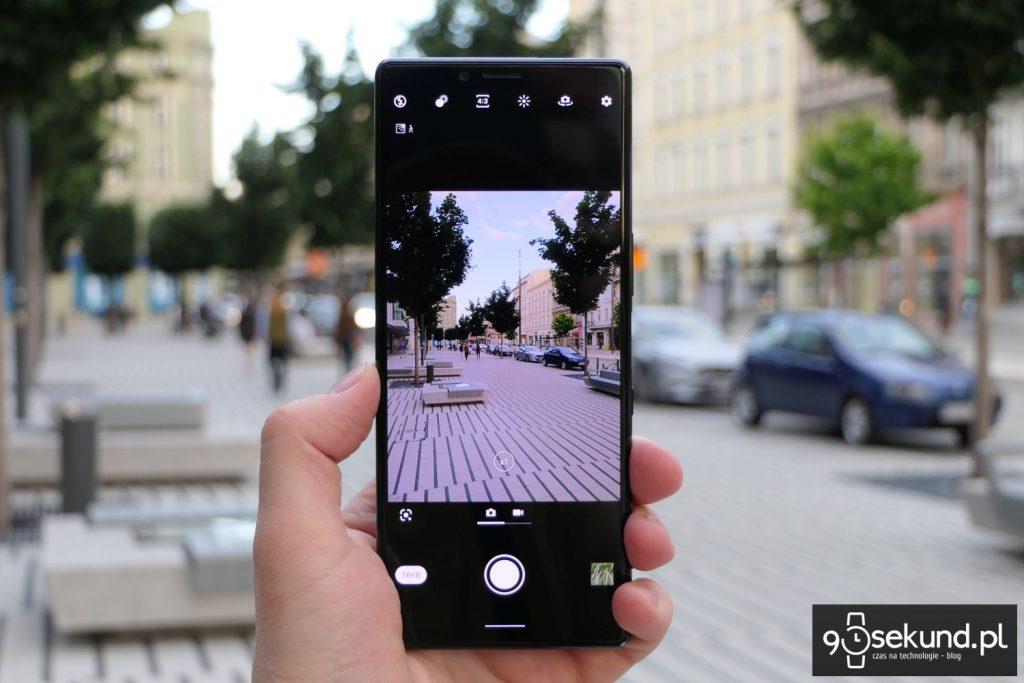 Aparat w Sony Xperia 1 mark I - Michał Brożyński - 90sekund.pl