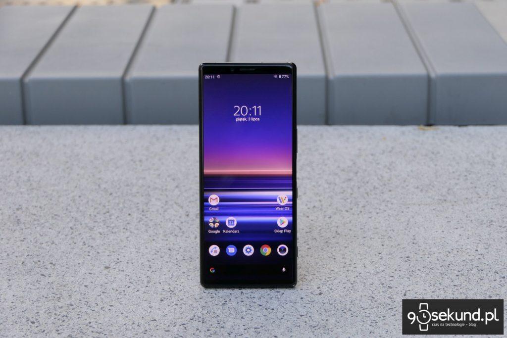 Test Sony Xperia 1 mark I - Michał Brożyński - 90sekund.pl