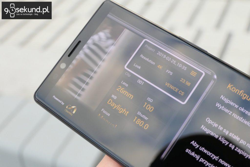 Recenzja Sony Xperia 1 mark I - Michał Brożyński - 90sekund.pl